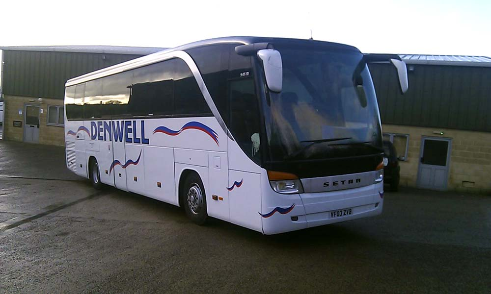 70 Seater Belted Coach